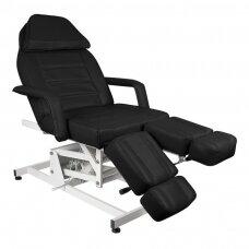 Elektrinė pedikiūro lova/ kėdė AZZURRO 673AS, juodos spalvos (1 varikliis)