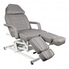 Elektrinė pedikiūro lova/ kėdė AZZURRO 673AS 1 variklio, pilkos spalvos