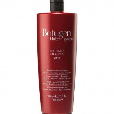 FANOLA BOTUGEN BOTOLIFE rekonstrukcinis šampūnas plaukams su Hialurono rugštimis, 1 Ltr