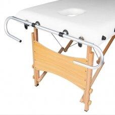 Flizelino laikiklis skirtas masažiniam stalui COMFORT