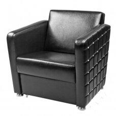 Fotelis GLAMROCK (plati apmušalų paletė)
