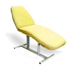 Frotinis kosmetologinės lovos užvalkalas geltonas