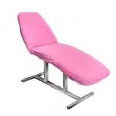 Frotinis kosmetologinės lovos užvalkalas rožinis