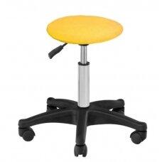 Frotinis meistro kėdutės užvalkalas geltonos spalvos