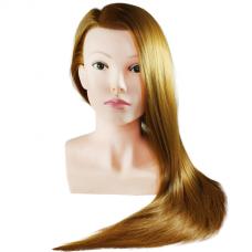 Galva mokymams, raudoni plaukai 70 cm.