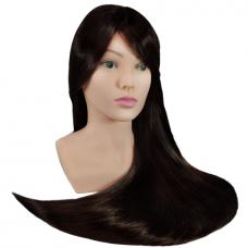 Galva mokymams, rudi plaukai 70 cm.