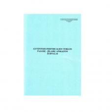 Gyventojo individualios veiklos pajamų - išlaidų apskaitos žurnalas