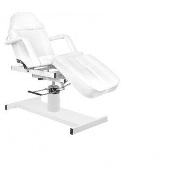 Hidraulinė kėdė pedikiūrui balta 5
