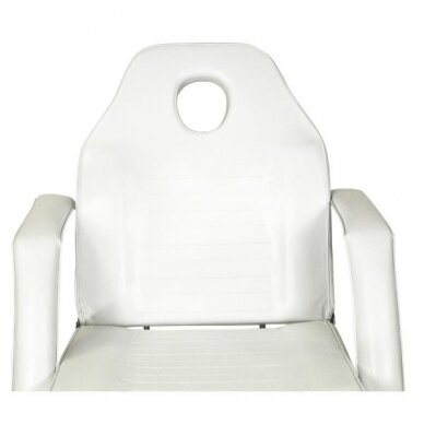 Hidraulinė kėdė pedikiūrui balta 7