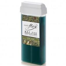 ITALWAX FLEX ALGAE depiliacijos vaškas kasetėje, 100 ml