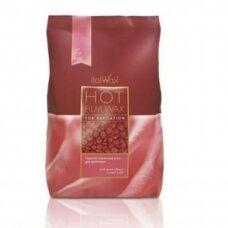 ITALWAX ROSE depiliacinis vaškas granulėmis. 1000 g.