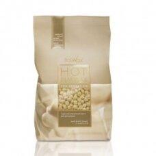 ITALWAX WHITE CHOCOLATE depiliacinis vaškas granulėmis. 1000 g.