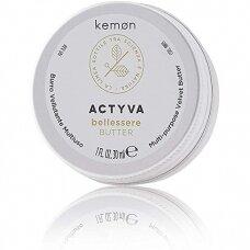 KEMON ACTYVA BELLESSERE BUTTER aksominis kūno bei galvos odos sviestas, 30 ml