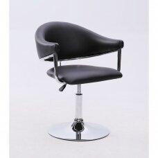Universali grožio salono kėdė 8-056, juoda