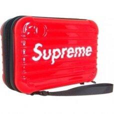 Kirpėjo lagaminas SUPREME1, raudonas