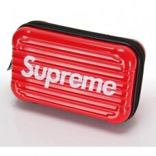 Kirpėjo lagaminas SUPREME2, raudonas