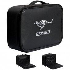 Kirpėjo lagaminas GEPARD, juodas