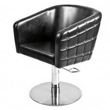 Kirpyklos kėdė GLAMROCK (plati apmušalų paletė)
