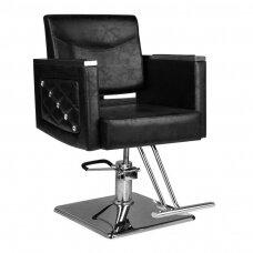 Kirpyklos kėdė SM363, juoda