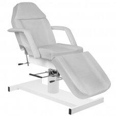Kosmetologinė hidraulinė lova pilka