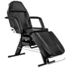 Kosmetologinė kėdė-lova, juoda