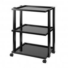 Kosmetologinis vežimėlis  PRO INK 1041, juodos spalvos