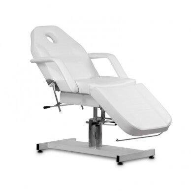Kosmetologinė hidraulinė lova, balta