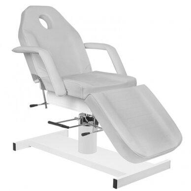 Kosmetologinė hidraulinė lova pilka 2