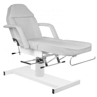 Kosmetologinė hidraulinė lova pilka 3