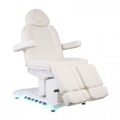 Elektrinė kosmetologinė kėdė AZZURRO 708BS PEDI PRO EXCLUSIVE 3 variklių, su šildymo funkcija