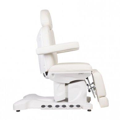 Elektrinė kosmetologinė kėdė AZZURRO 708BS PEDI PRO EXCLUSIVE 3 variklių, su šildymo funkcija 7