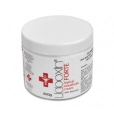 Kremas anestetikas LIDOXIN FORTE Lidocaine 20 % 500 g.