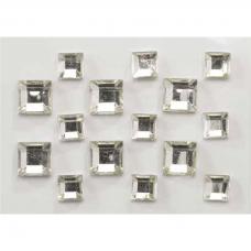 Kristaliukai nagų dailei, sidabriniai