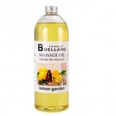 Masažo aliejus Lemon Garden, 1000 ml.