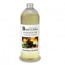 Masažo aliejus Rosemary & Lemon, 1000 ml.