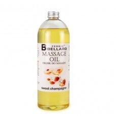 Masažo aliejus Sweet champagne, 1000 ml.