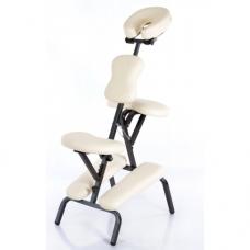 Masažuotojo kėdė, kreminė