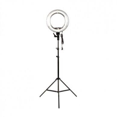 Makiažo lempa 12R, su stovu ir krepšiu