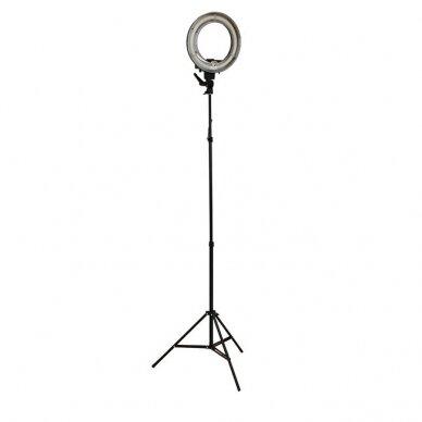 Makiažo lempa 12R, su stovu ir krepšiu 3
