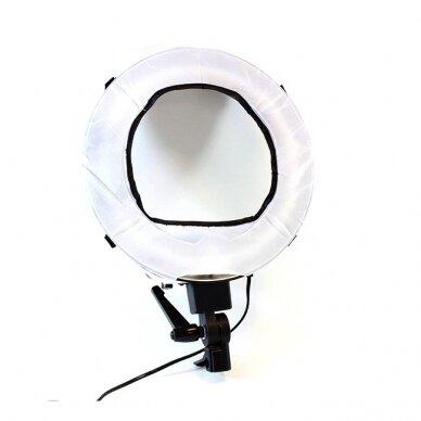 Makiažo lempa 12R, su stovu ir krepšiu 6