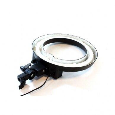 Makiažo lempa 12R, su stovu ir krepšiu 8