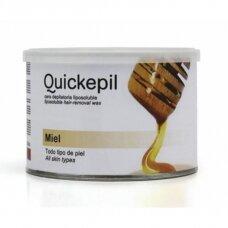 QUICKEPIL medaus vaškas depiliacijai skardinėje, 400 ml