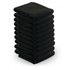 Mikropluošto rankšluosčiai, 73*40 cm, 10 vnt. , juodi