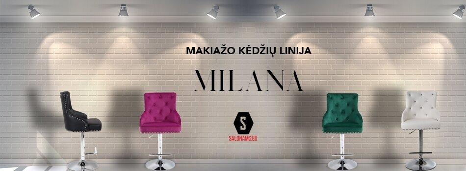 MILANA makiažo kėdės