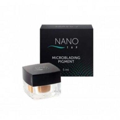 NANO TAP microblading pigmentas light brown, 5 ml.
