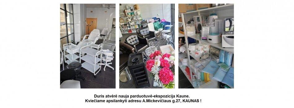 Nauja parduotuvė Kaune
