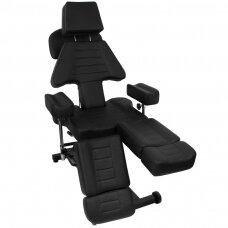 Profesionali hidraulinė tatuiruočių salono kėdė-lova PRO INK 603B
