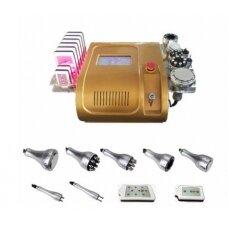 Profesionalus 6 funkcijų radio bangų kavitacinis liekniejimo aparatas LIPOLAZERIS