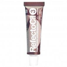 RefectoCil antakių, blakstienų ir barzdos gelio dažai (3), ruda spalva