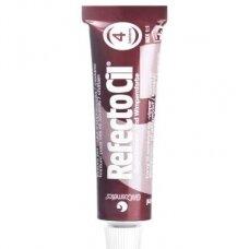RefectoCil antakių, blakstienų ir barzdos gelio dažai (4), kaštoninė spalva